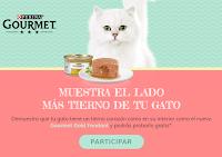 Muestras gratis de comida para gatos Purina Gourmet Gold Fondant