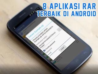 Daftar Aplikasi RAR Terbaik untuk Android