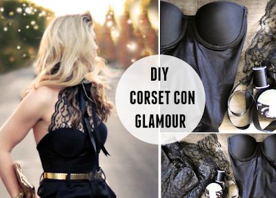 Como hacer un Corset estilo Hollywood con Glamour