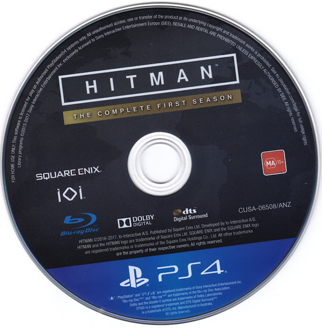 Label Hitman The Complete First Season Steelbook Edition PS4