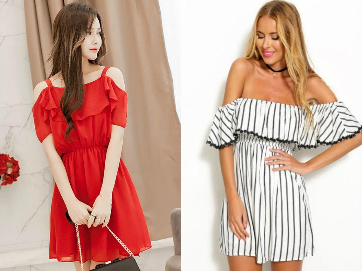 sukienki-z-odkrytymi-ramionami