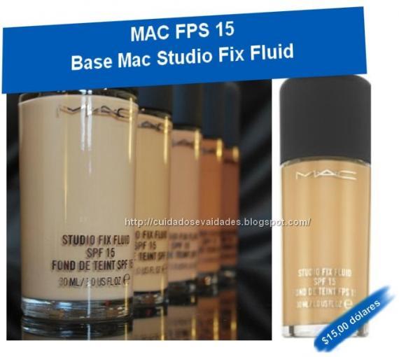 BASE STUDIO FIX FLUID MAC