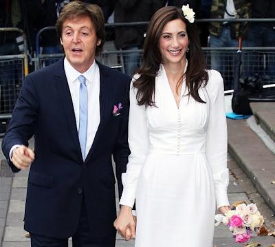 E Paul McCartney & Nancy Shevell