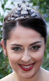 queen geraldine albania sapphire diamond tiara ram goat princess elia