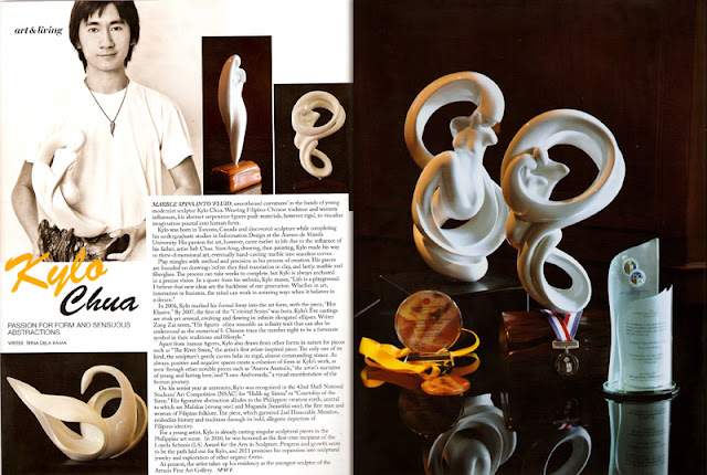 'Eves of Eight' Sculptures on SPACE Design+Travel Magazine