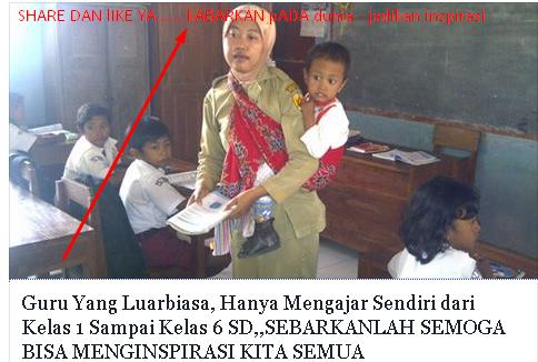 1 Guru Mengajar 6 Kelas - Kabupaten Landak, Kalimantan Barat