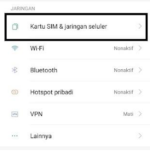 Pengaturan HP Android Xiaomi