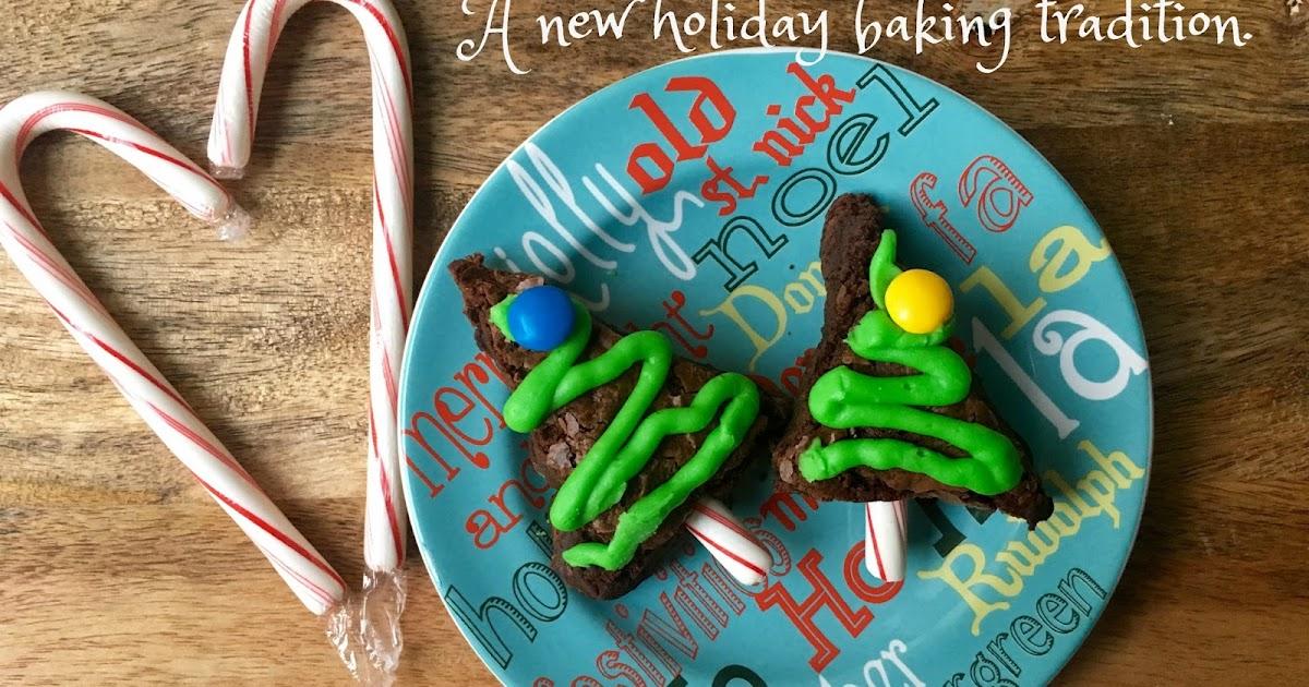 Crafty Texas Girls Easy Christmas Tree Brownies