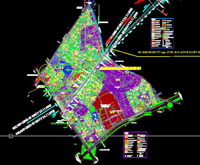 Bản đồ quy hoạch phường Trung Mỹ Tây