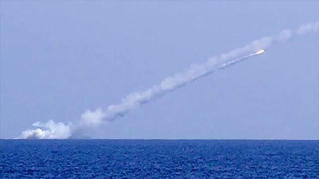 Submarinos de Rusia lanzan misiles de crucero contra EIIL en Siria