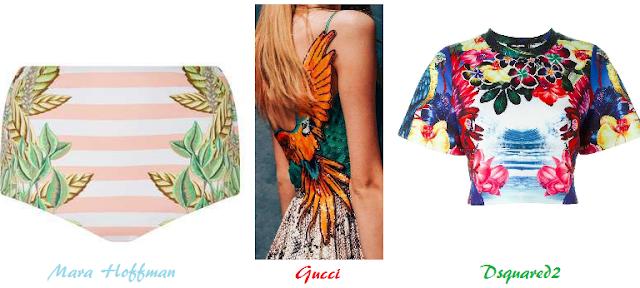 tendenze moda donna estate 2016 fantasie floreali e tropicali
