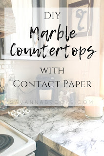 Contact paper for diy marble countertops