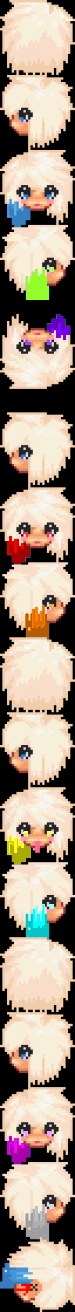 Graalonline classic body templates girl for Graal head templates