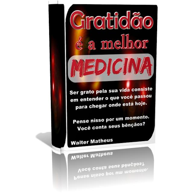 Gratidão é a melhor medicina