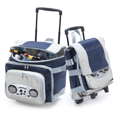 iPod Ready Foldable Cooler on Wheels