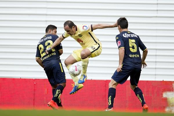 Cuauhtemoc Blanco jugando con America en su homenaje, Clausura 2016 | Ximinia