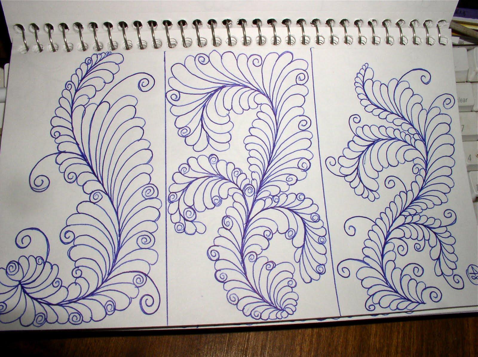 Luann Kessi Sketch Book Quilting Designs