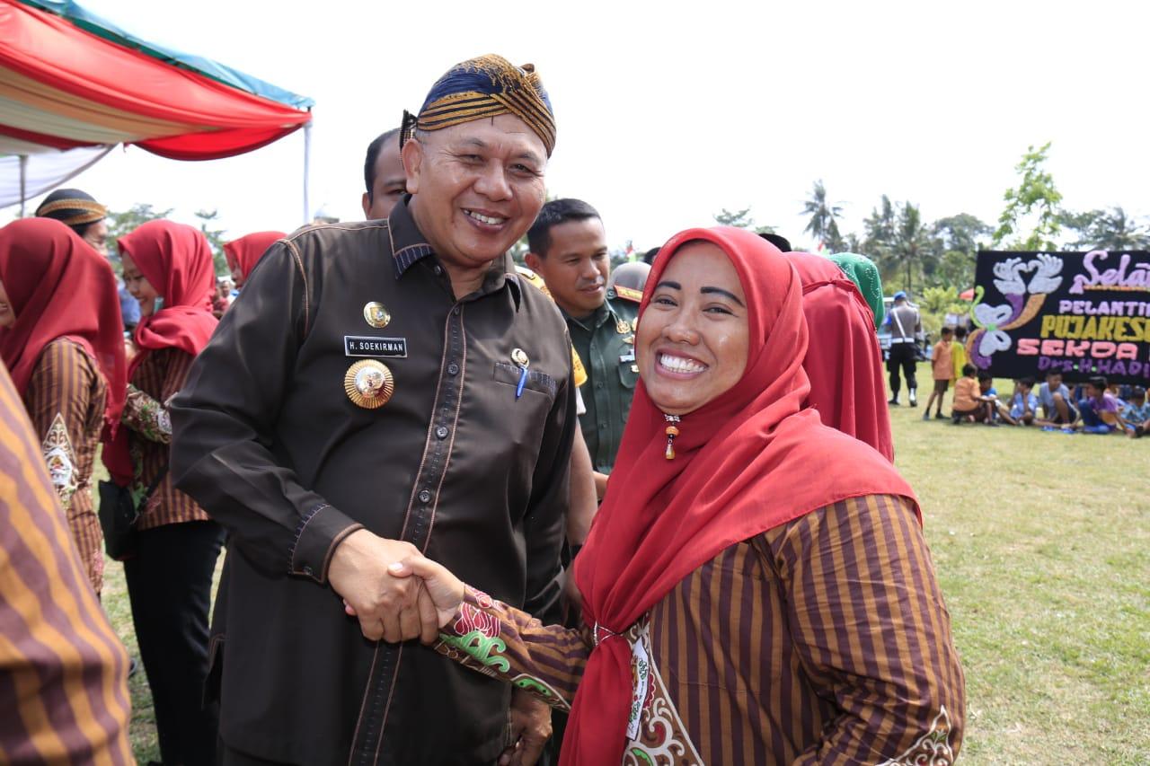 Bupati Soekirman Hadiri Pelantikan DPD Paguyuban Keluarga Besar PUJAKESUMA Kabupaten Sergai