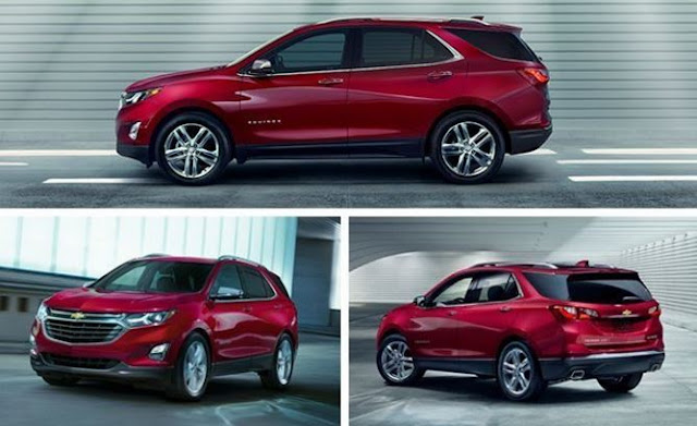 2018 Chevrolet Equinox  Packs Less Weight, More Engine Specs