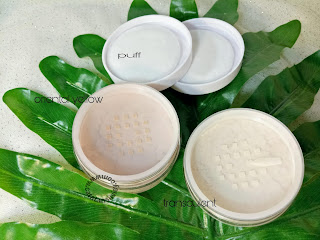 review fanbo acne solution loose powder