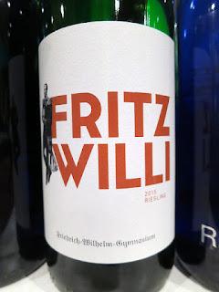 Fritz Willi Friedrich-Wilhelm-Gymnasium Riesling Feinherb 2015 (89 pts)