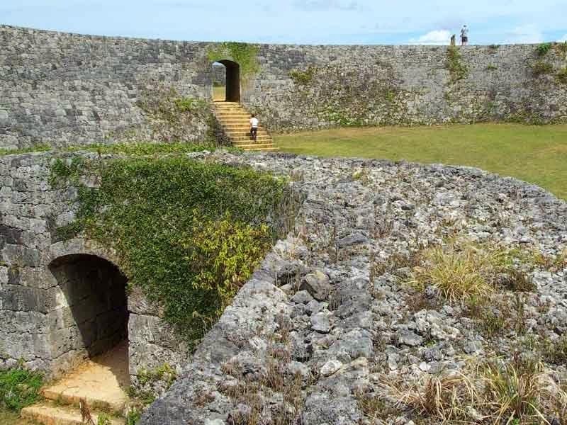 UNESCO Zakimi Castle,Yomitan,Okinawa