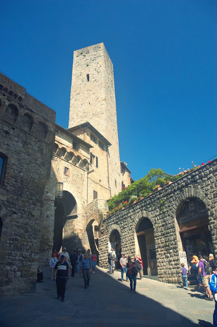 okolice centrum miasta San Gimignano
