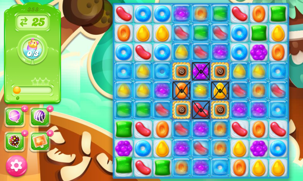 Candy Crush Jelly Saga 358