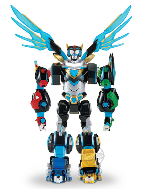 DCC 2018 Playmates Voltron Hyper-Phase Legendary Lion Assortment Set