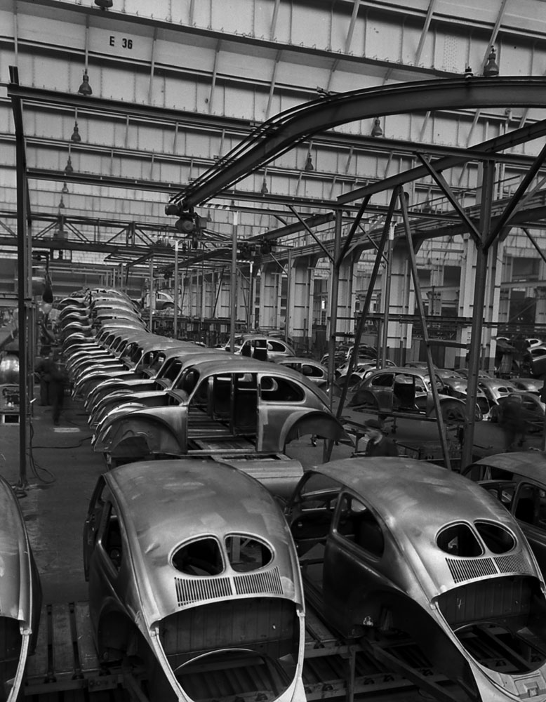 23 Amazing Black And White Photographs Captured Volkswagen