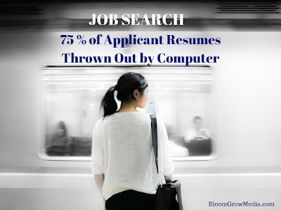 Job Search: 75% of Applicant Resumes Thrown Out by Computer