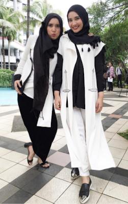 Model Baju Zaskia Sungkar Terbaru Kombinasi Outer