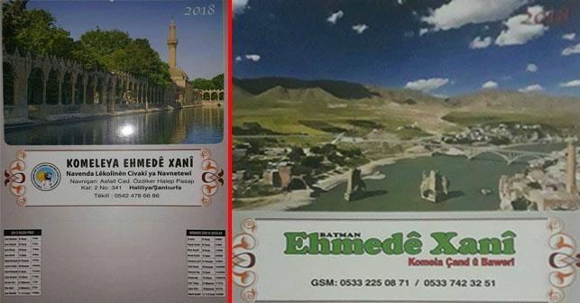 Ahmedi Hani Ehmede Xani Salname Takvim