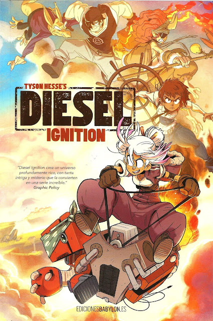 """Diesel Ignition"" de Tyson Hesse - Ediciones Babylon"