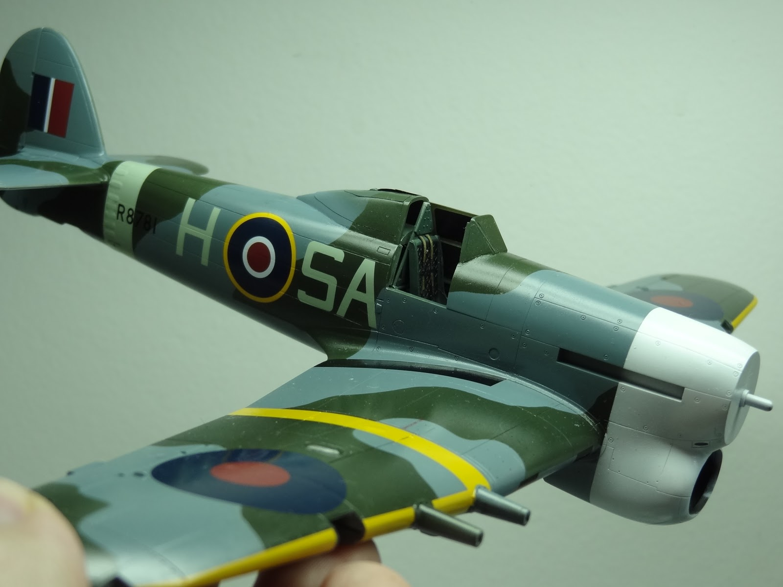 Hawker Typhoon Car Door