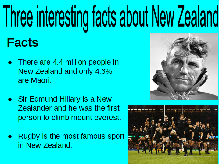Things About New Zealand