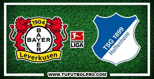 Ver Bayer Leverkusen vs Hoffenheim EN VIVO Por Internet Hoy 26 de Agosto 2017