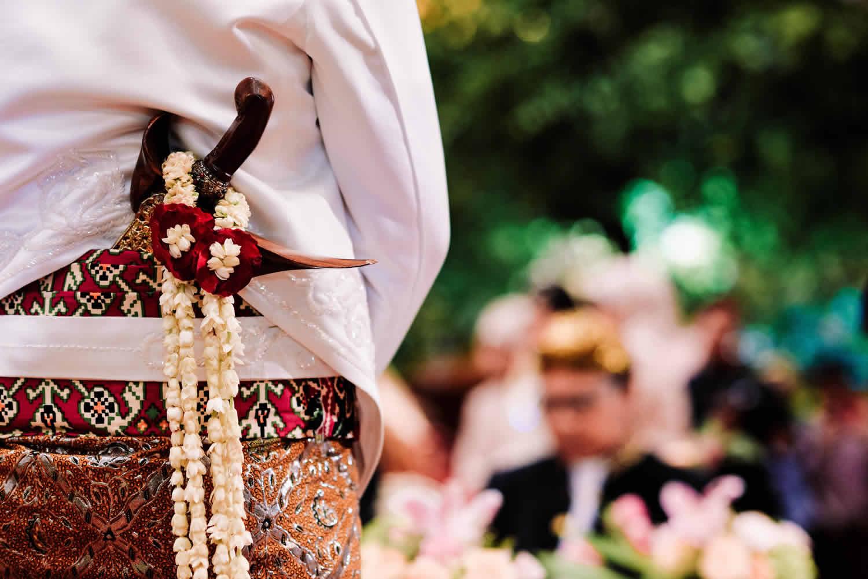 Sandras Project di acara akad nikah