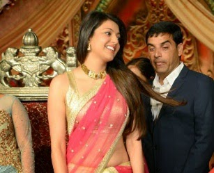Kajal Agarwal Sizzles At Dil Raju Daughter Reception DAILY REPORT
