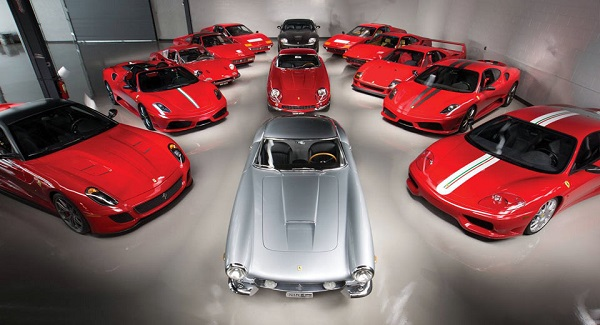 Colección Ferrari subasta