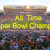NFL Super Bowl past winners-champions, results, history.