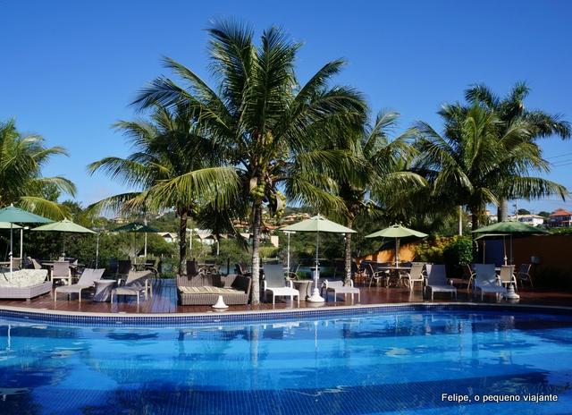 piscina do Hotel Ferradura Resort