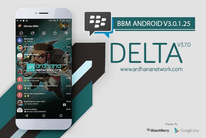 Delta BBM V3.7.0 - BBM MOD Android V3.0.1.25
