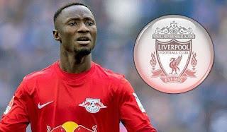 Naby Keita Resmi Gabung Liverpool