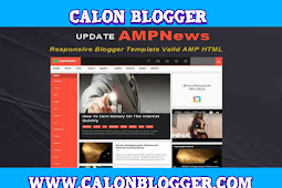 Download AmpNews Super Responsive Template Blogger