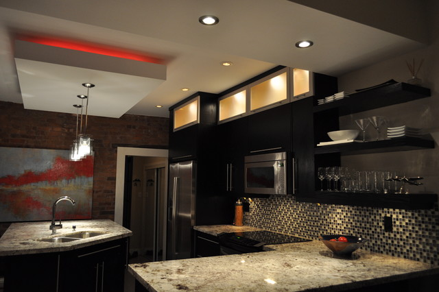 Kitchen Gypsum Ceiling Design For Unique Decoration