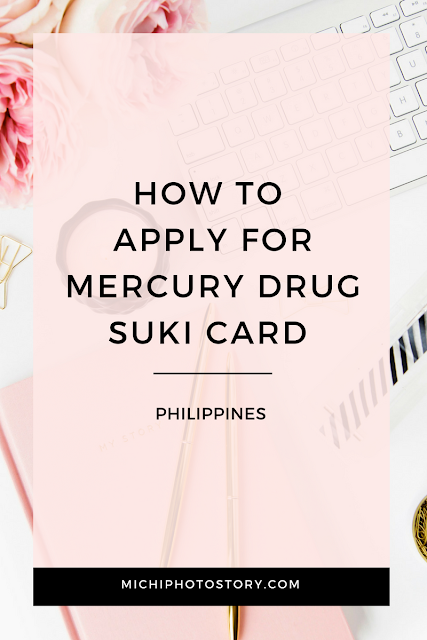 How to Apply for Mercury Drug Suki Card