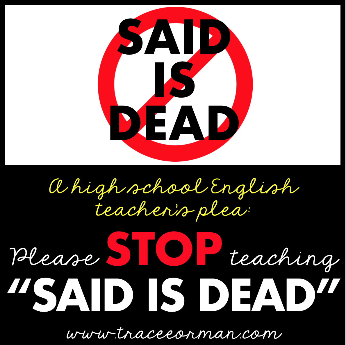 Mrs Orman S Classroom An English Teacher S Plea To Keep