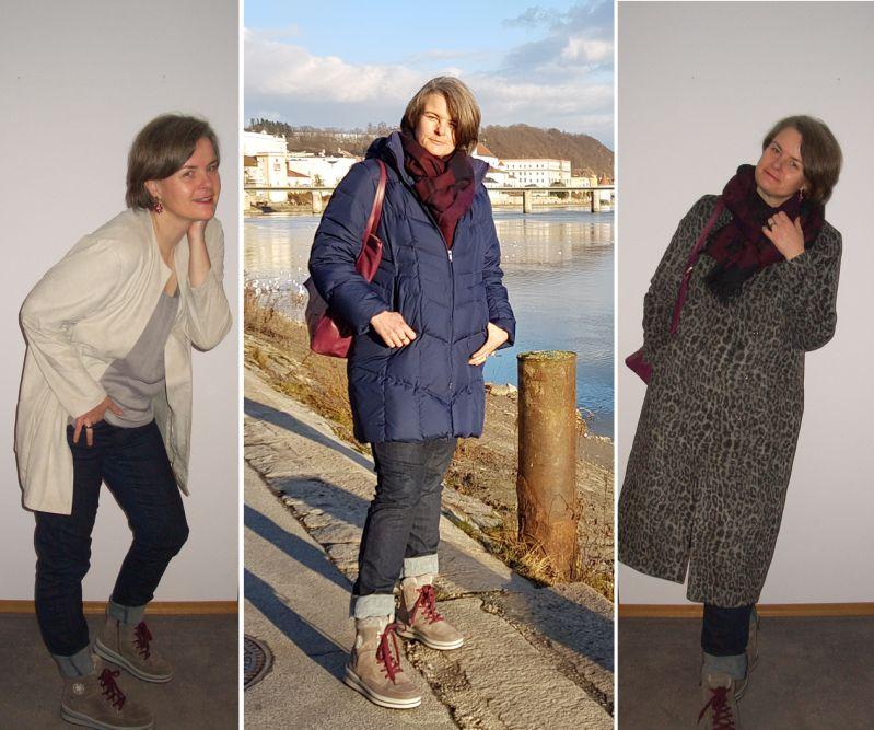 Rund um die Uhr Wohlfühloutfit für große Frauen ohne Modelmaße