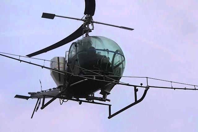 Κατέπεσε ψεκαστικό ελικόπτερο - Δυο νεκροί και τραυματίας ένας φοιτητής